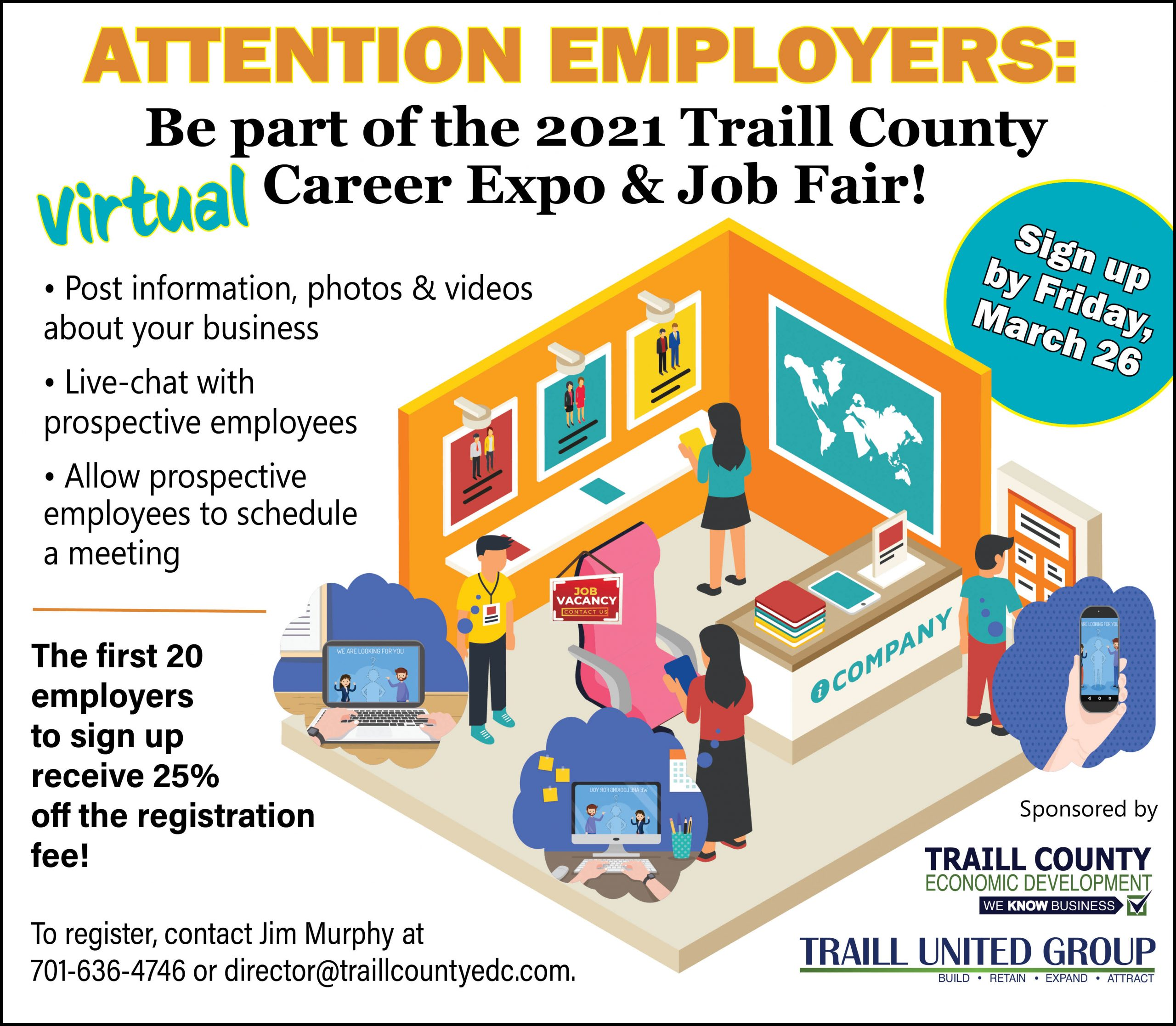 2021 Virtual Career Expo & Job Fair